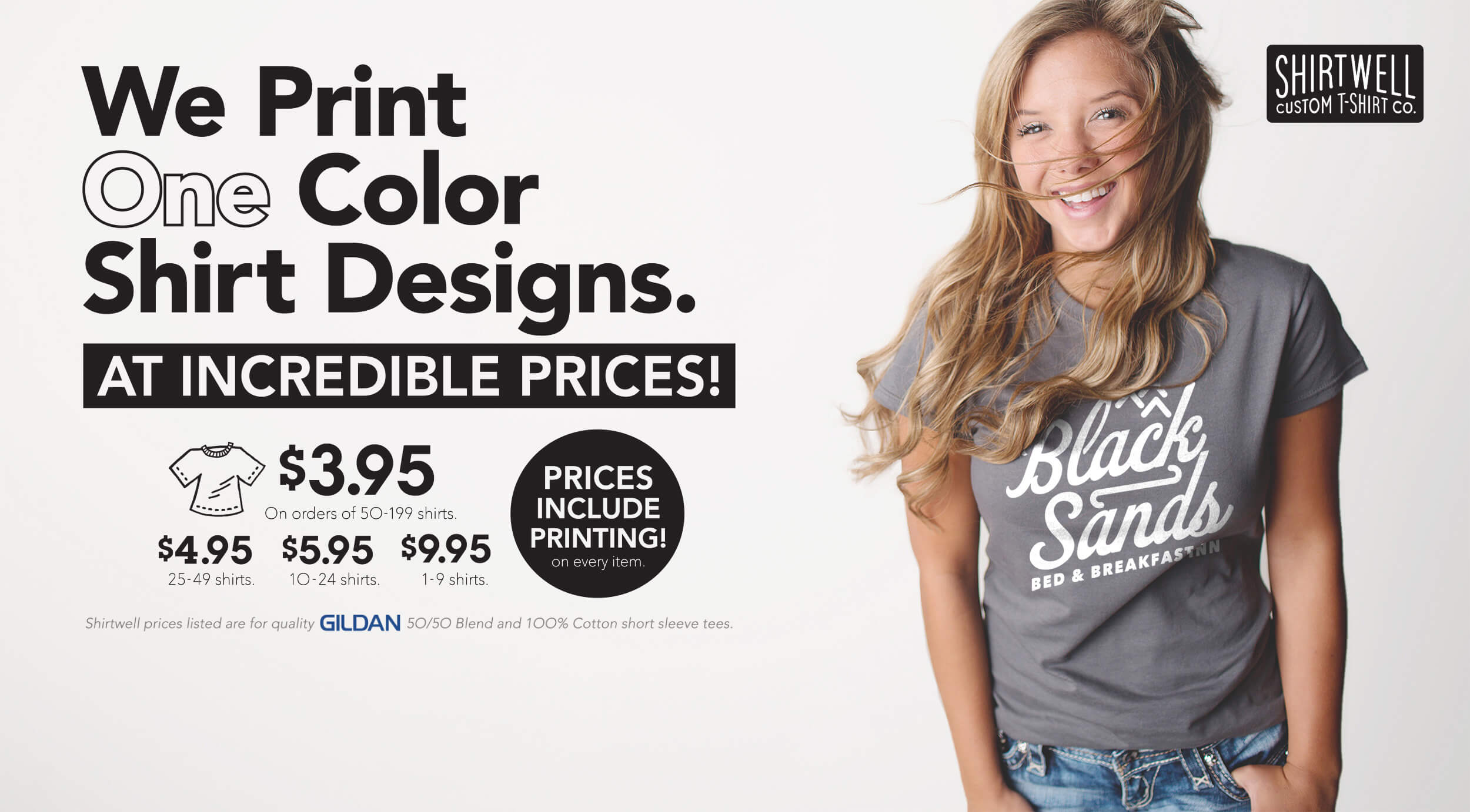 Shirtwell - 1-ink Custom Tees at Incredible Prices. Create Your Own ...